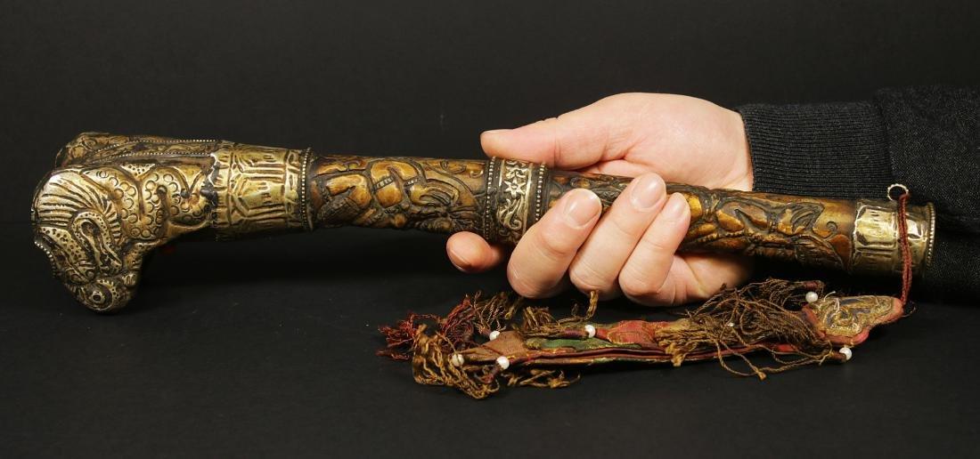 Tibet 1940/1950 AD Handmade femor bone Kangling 27,5 cm