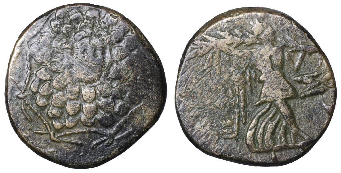 Amisos. Pontos. Bronze unit. 100 BC. VF