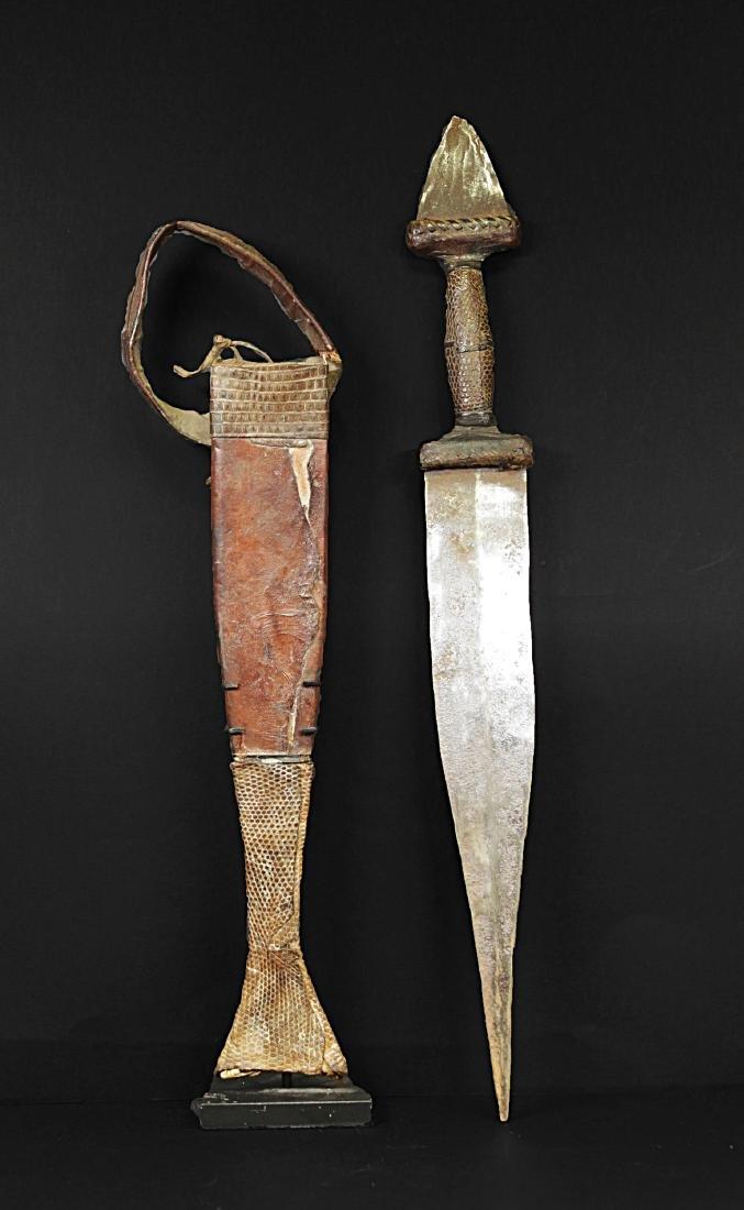 Niger Touareg Dagger 1935  44 cm - 628 gr - 2