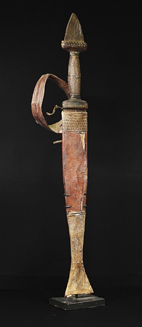 Niger Touareg Dagger 1935  44 cm - 628 gr - 3