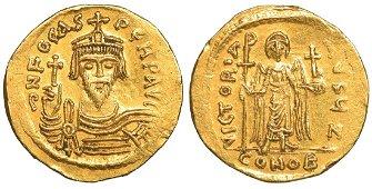 Phocas Gold Solidus 602-610