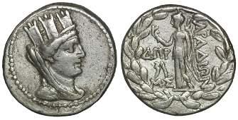 Phoenicia Arados 98-97 BC. Tetradrachm XF
