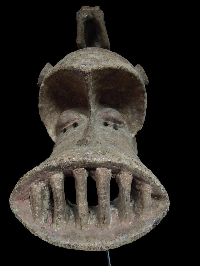Mali. Dogon People Fine Wooden Carved mask 59x24 cm - 2