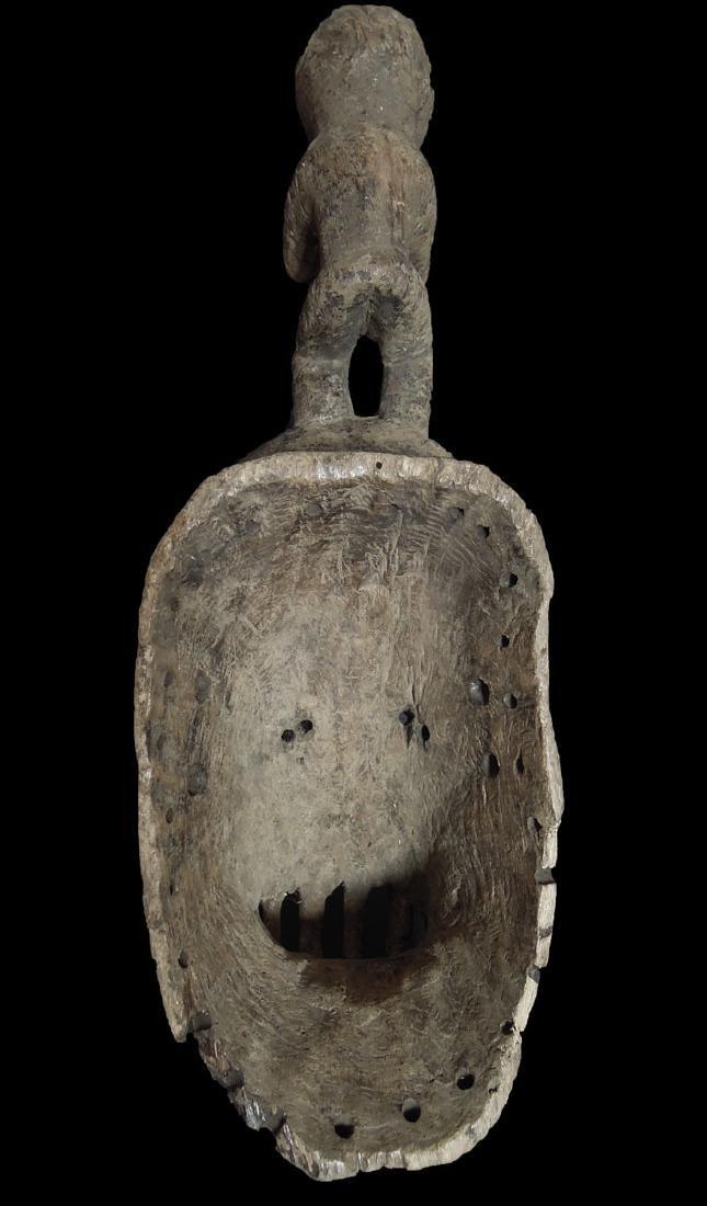 Mali. Dogon People Fine Wooden Carved mask 59x24 cm - 6