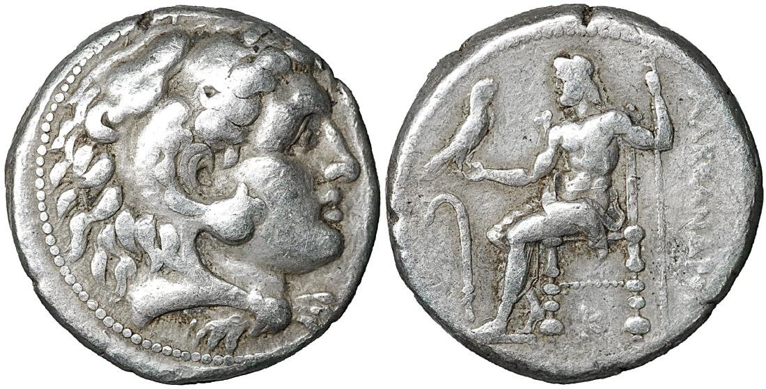 Alexander III the Great 336-323 BC Silver