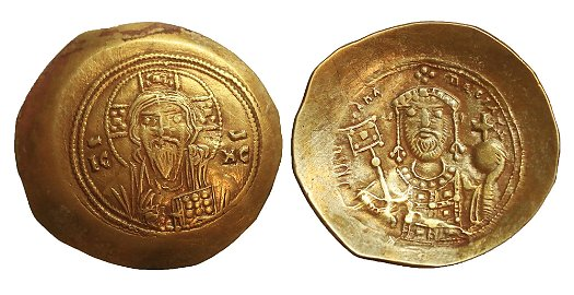 MICHAEL VII 1071-1078 GOLD Histamenon Byzantine Coins