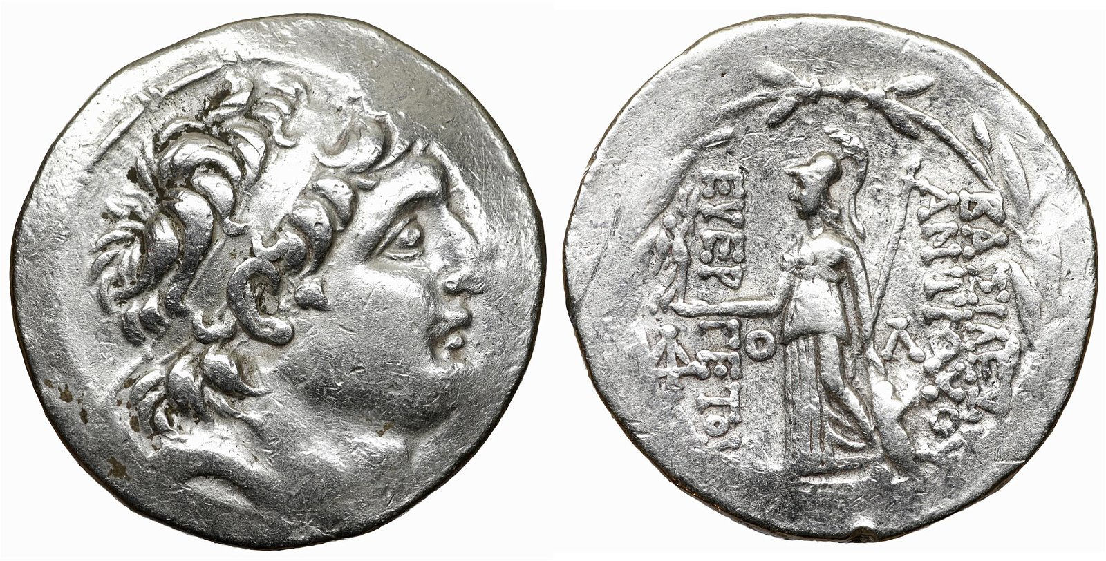 SELEUCID Antiochus VII 138-129 BC Silver Tetradrachm