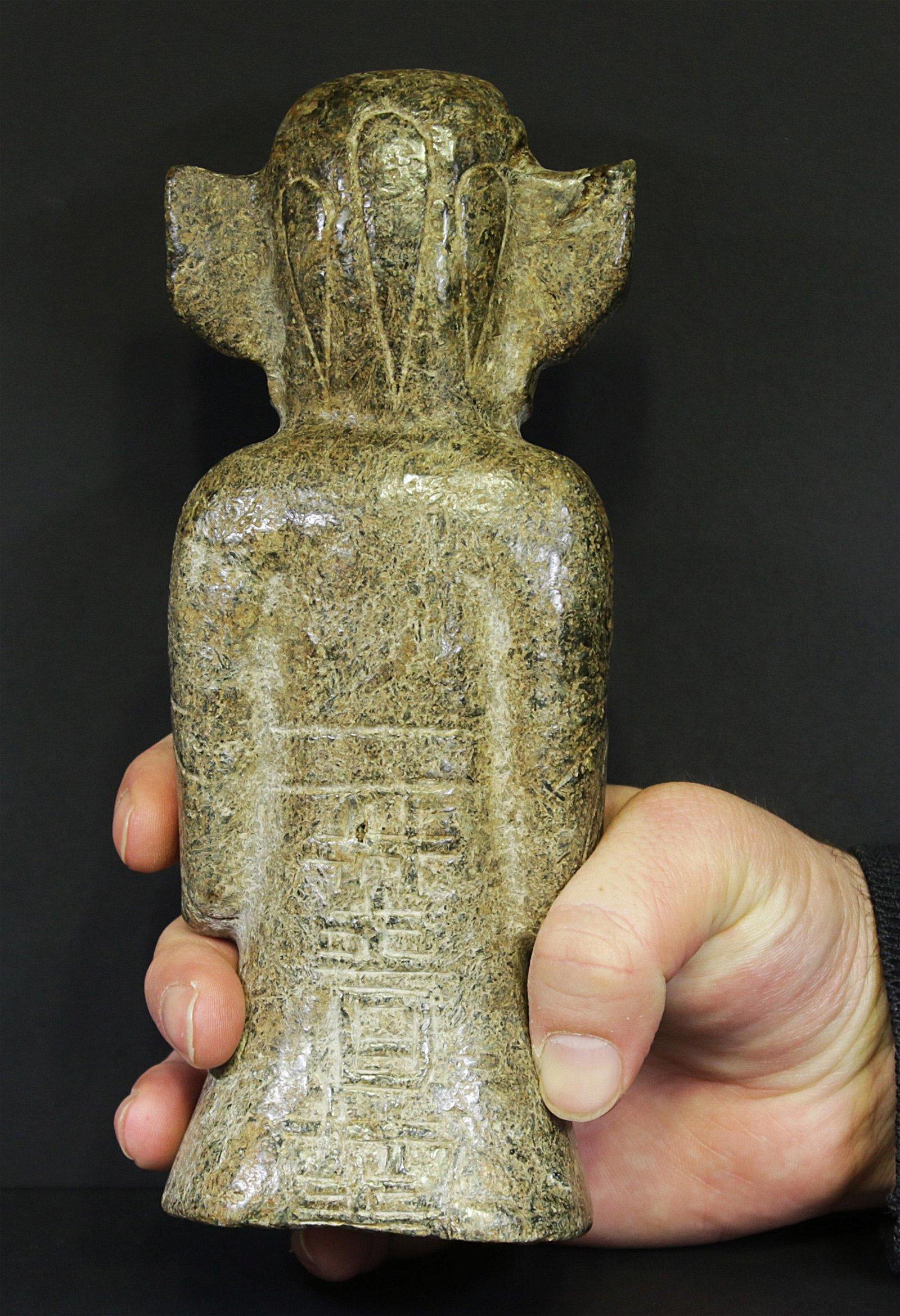 Archaic Jade statue Hongshan culture 1500 AD 1585 gr.
