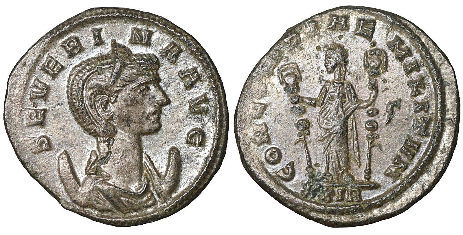 Severina 274-275 AD Antoninianus Rome XF+ Roman empire