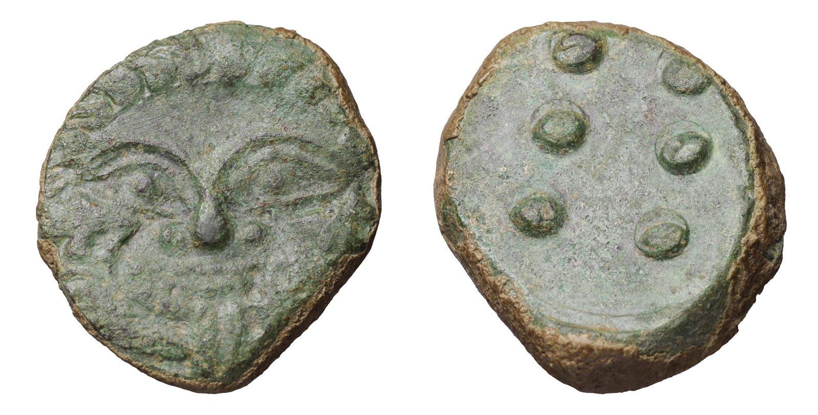 SICILY HIMERA 450-420 BC HEMILITRON Greek Coin