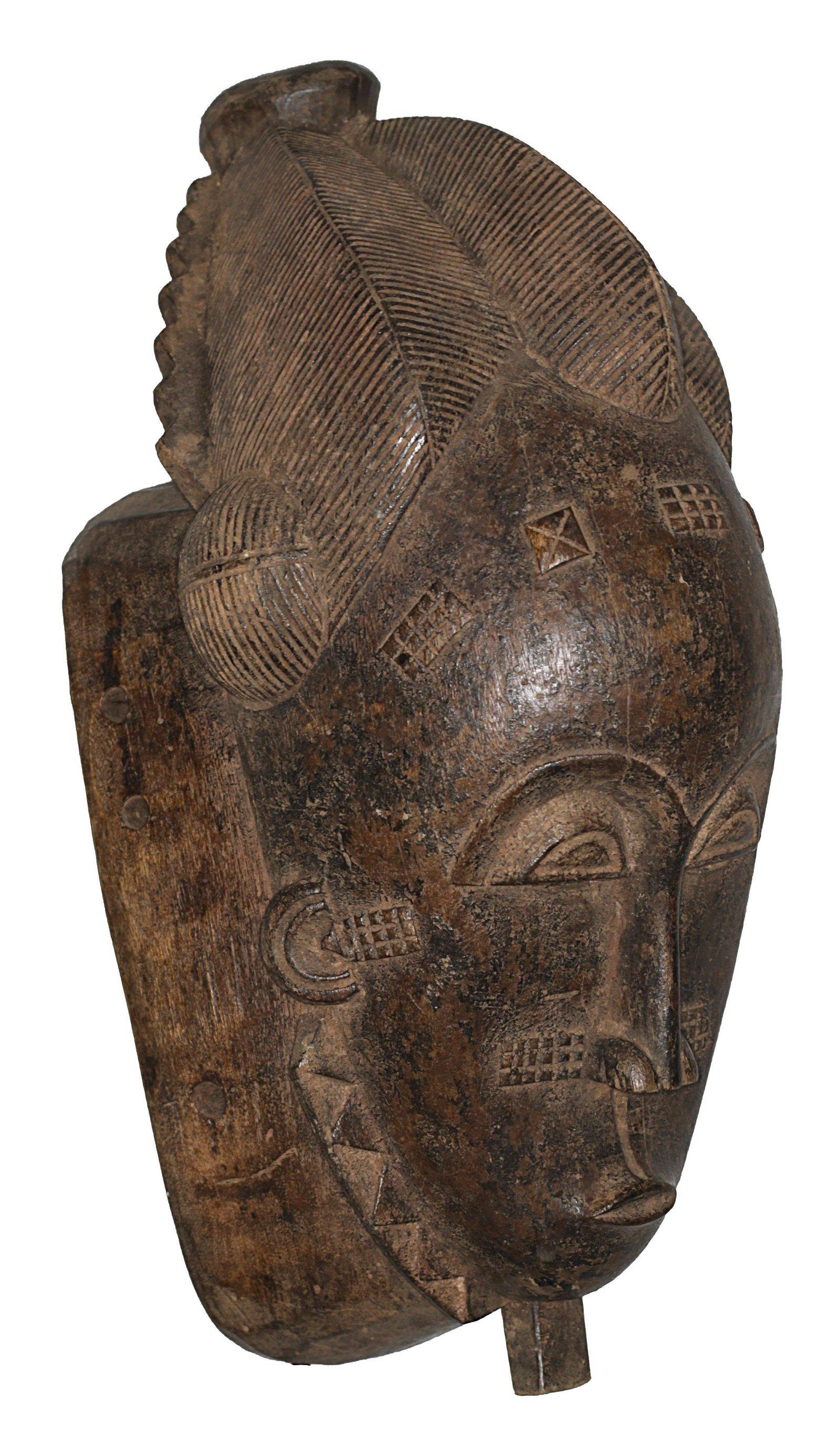 Ivory Coast Baule people Old and Impressive Ceremonial