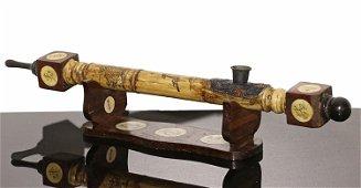 China Ming Guo period 1920 AD. Bone opium pipe with
