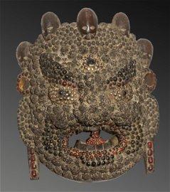 Tibet Himalayan tribes 1950 Rare and impressive Shaman