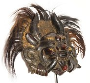 Himalayan tribes 1970 Cheppu mask 1,3kg-32cm sold with