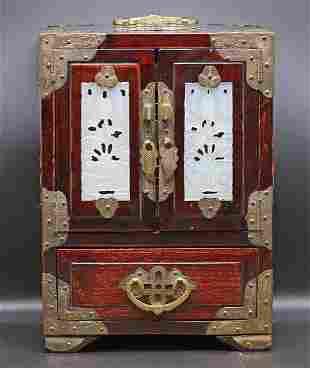 China Vintage Wooden Jewel case 1,5 kg