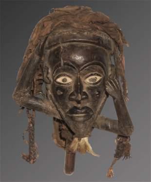 Congo 1950 Bakongo people Fetish figure Vodoo