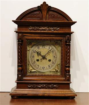Germany a unique and beautiful table clock 1920