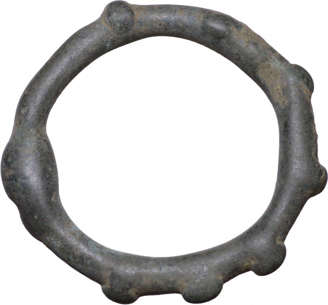 Celtic COIN Balkan Area Large money ring III°-I° cen BC