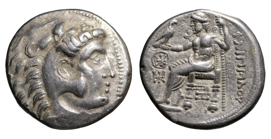CELTIC coin Lower Danube Tetradrachm Imitation Philip