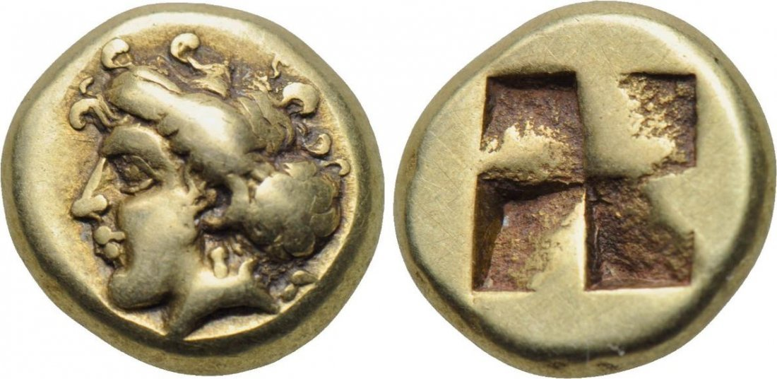 IONIA Phokaia 478-387 BC. EL Hekte GREEK COIN
