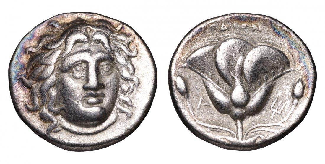 RHODOS. 304-167 BC. AR Didrachm. ancient GREEK COIN