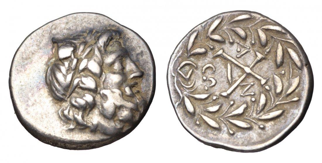 PELOPONNESOS. Achean league After 280 BC. AR greek coin