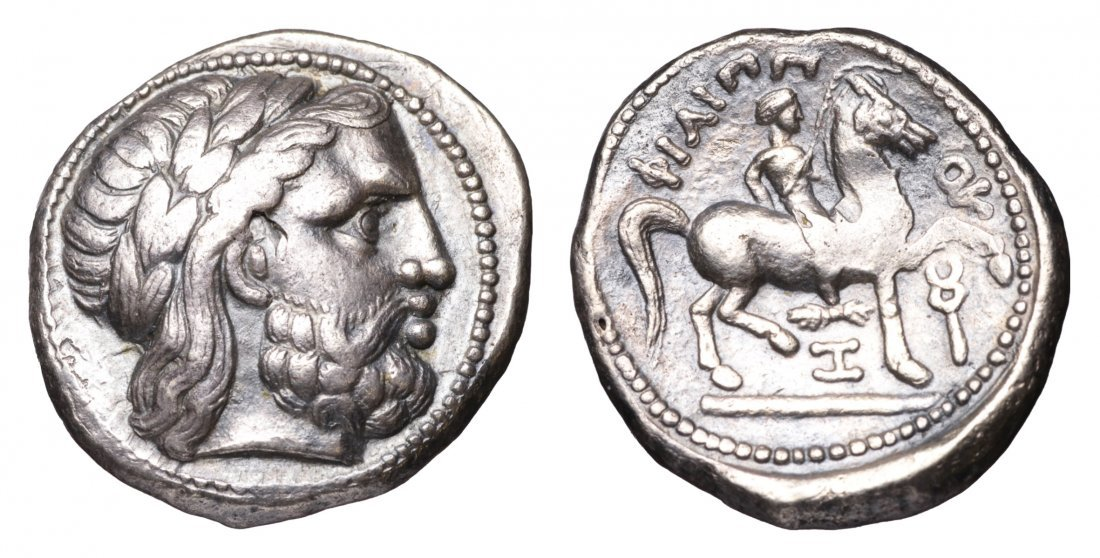 MACEDONIA. Philip II. 315-294 BC. AR Tetradrachm.