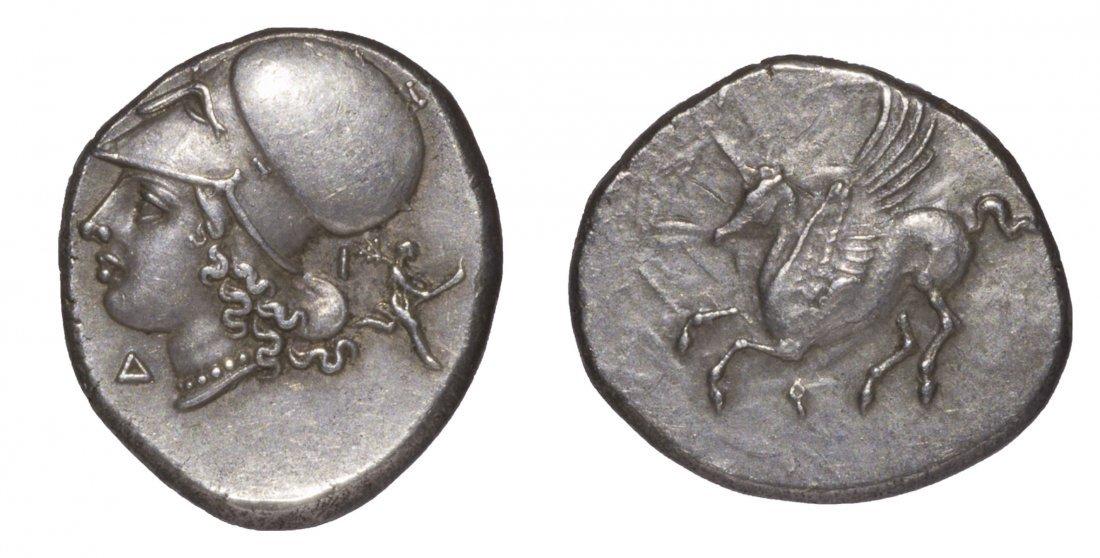 CORINTHIA. Corinth. 405-345 BC. AR Stater.