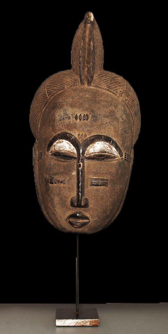 Superb Baul people Wall mask 3458 gr. 24 inch ex.