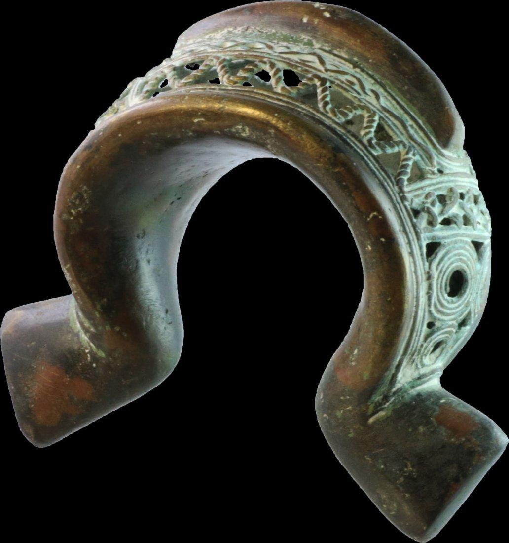 Cameroon Bamun people Bracelet ornate in open work 1900