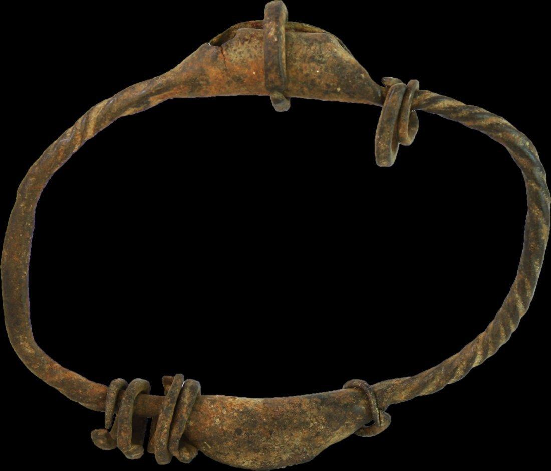 NIGERIA Chamba people Brass bracelet currency Early