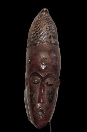 Old Guro People Red Pigmentation 45 Cm 17 Inch