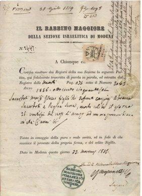 Sicily Kingdom 1823 Passport Naples/vienna