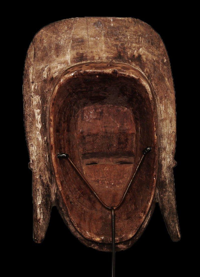 A fine Baulè people Wall mask 19 inch - 6