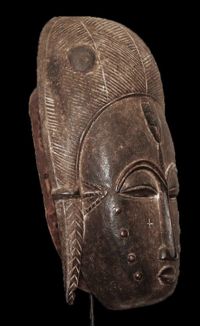 A fine Baulè people Wall mask 19 inch - 8