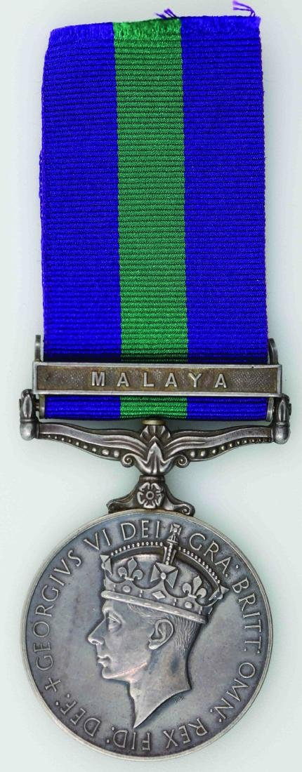 King George VI General Service Medal (Silver)