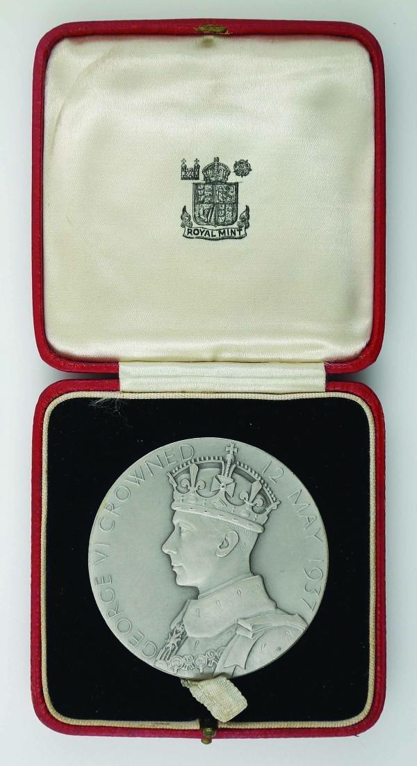 1937 Great Britain. CORONATION MEDAL OF GEORGE VI