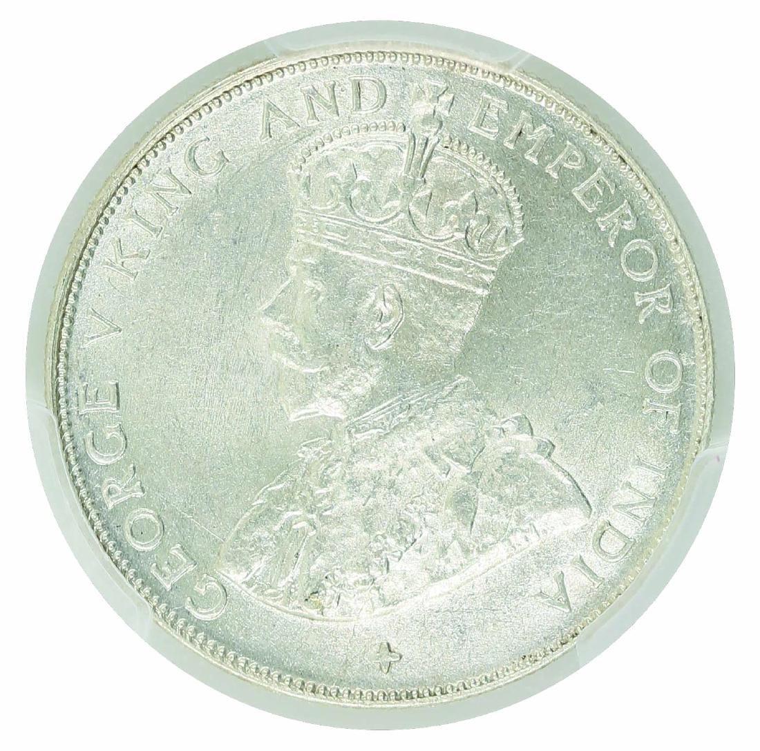 Straits Settlement 1921  50 Cents