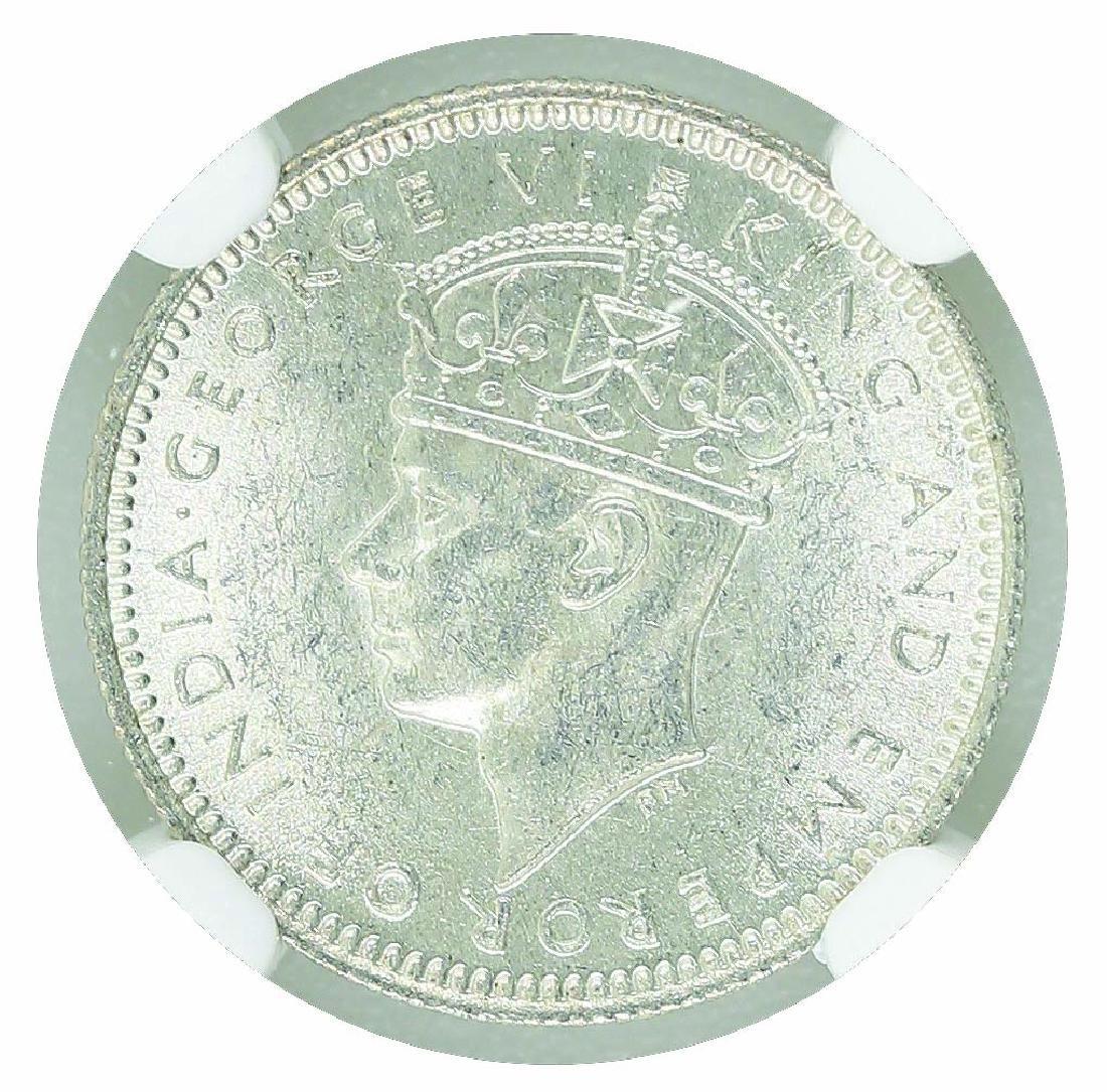 Malaya 1941 10 Cents NGC MS 63