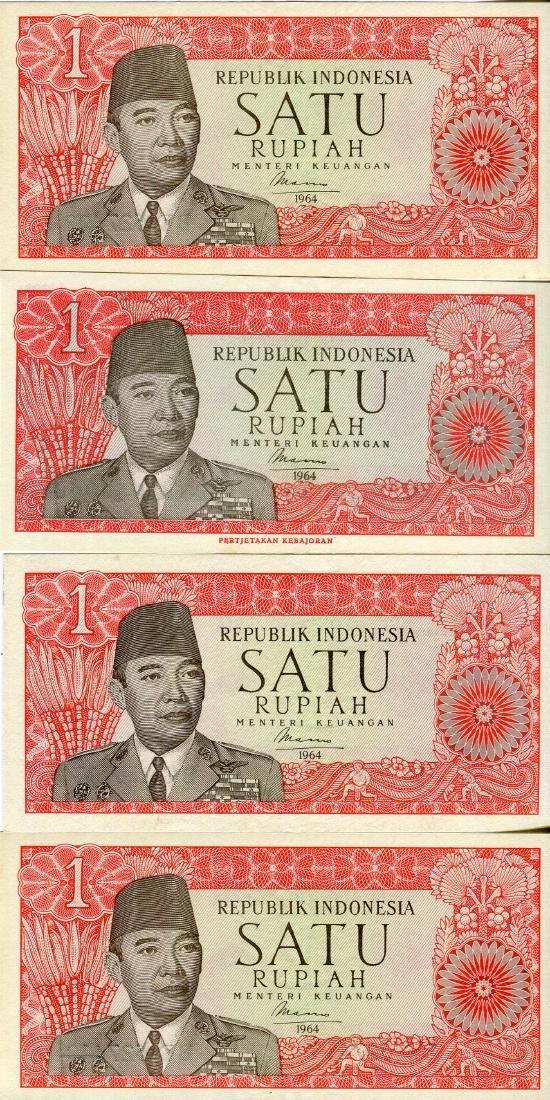 Indonesia 1964 1 Rupiah (P80)