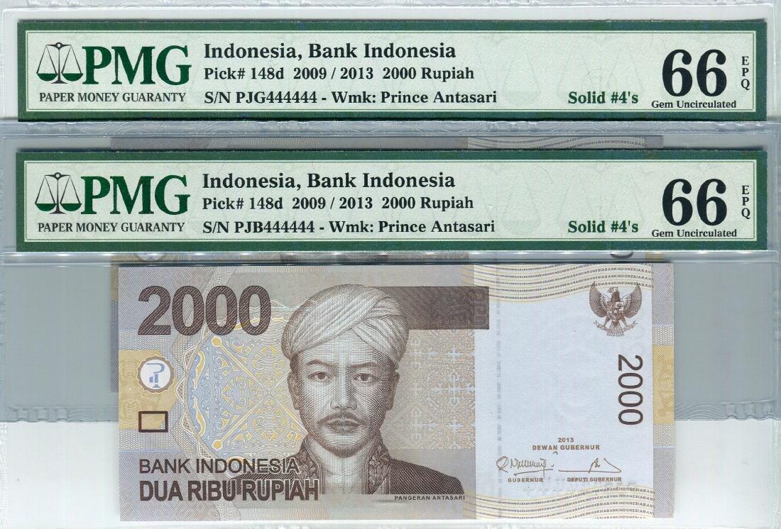 Indonesia 2009 2,000 Rupiah