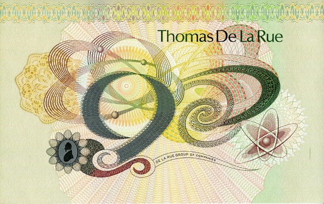 Thomas De Larue Test Note UNC