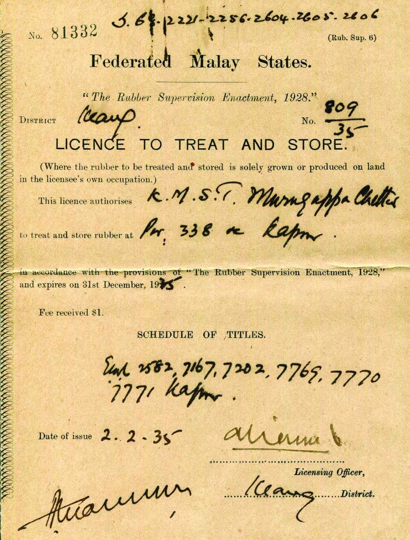 FMS, Licence To Treat and Store, Serial no. 81332