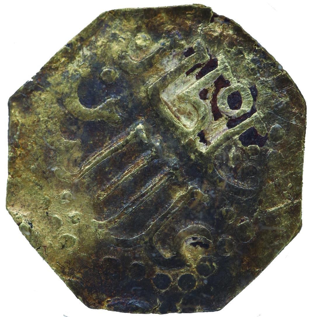 Johor 1528 - 1564 , Johor Gold 1 Mas  Obv. Sultan