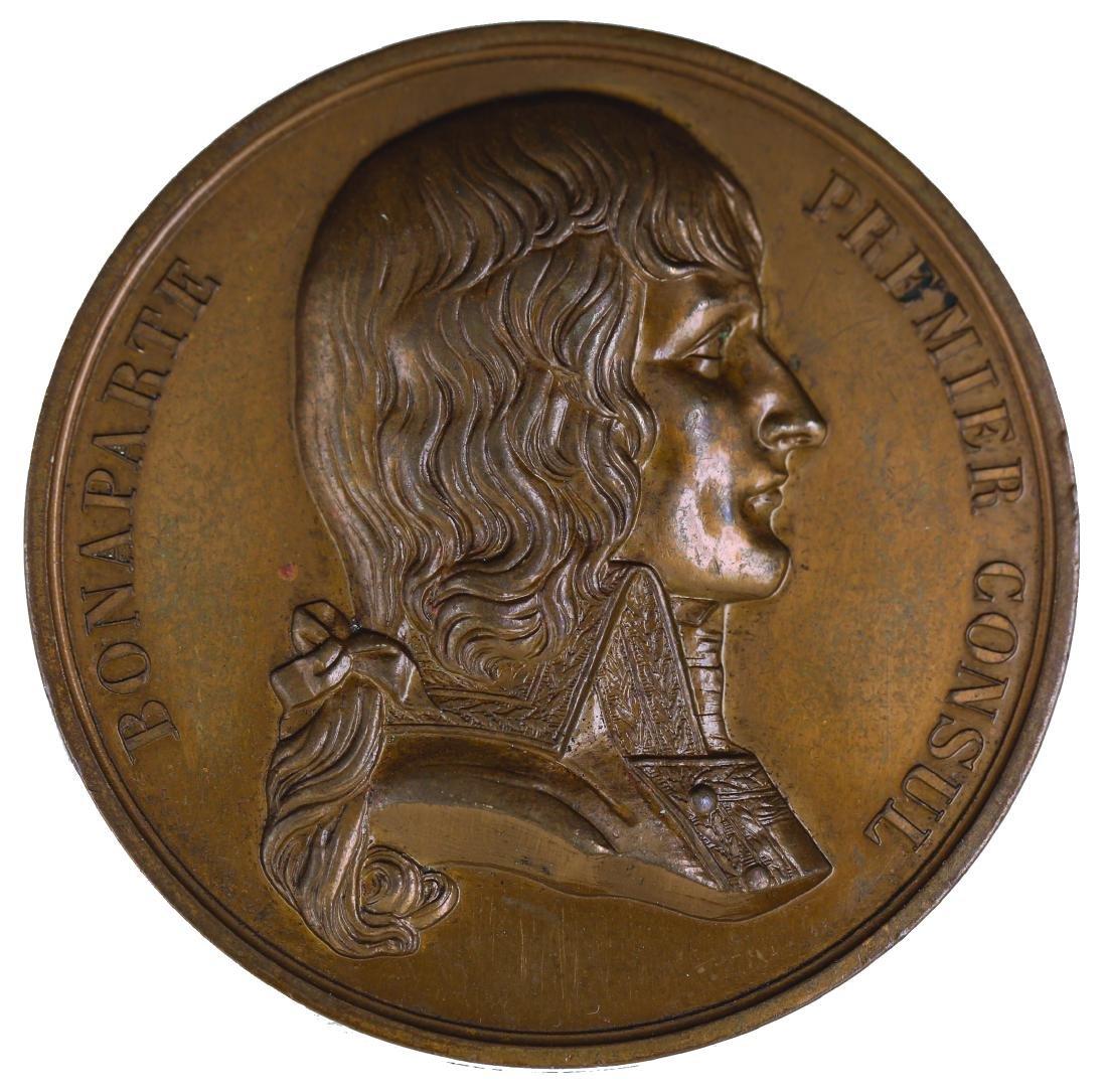France 1980, Medal, Bonaparte Premier Consul, Consulate