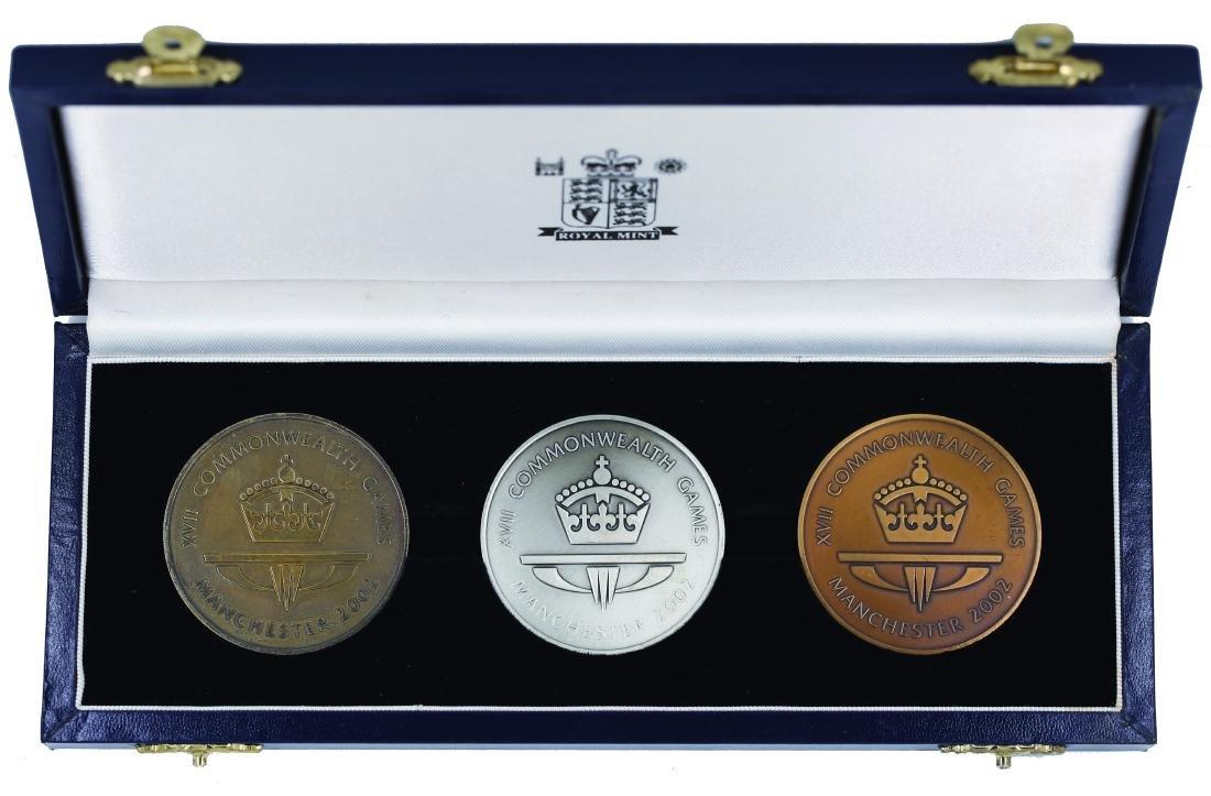 United Kingdom Manchester 2002, Medallion The X VII