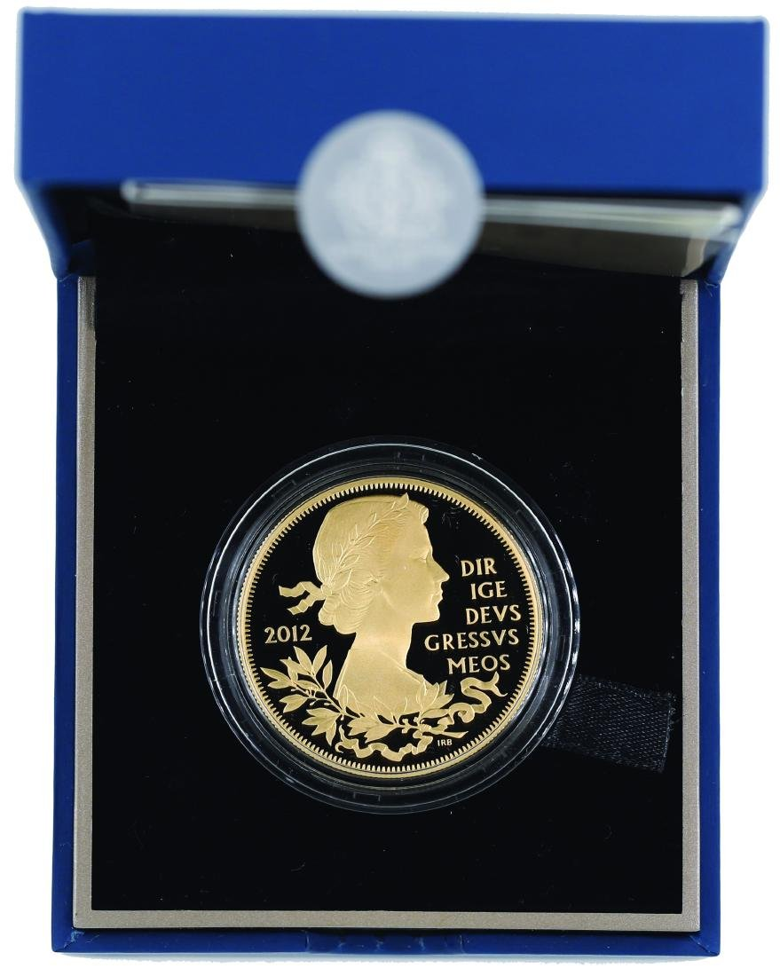 United Kingdom 2012, The Queen Diamond Jubilee ,5 Pound