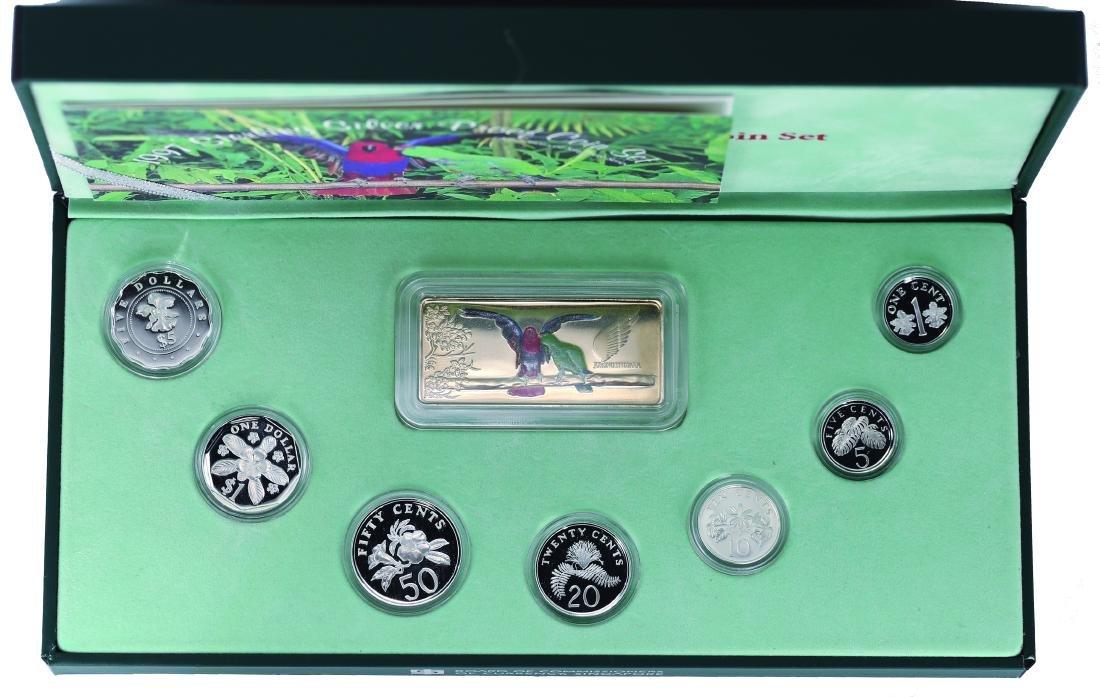 Singapore 1997 Proof Coin Set (Jurong Bird Park) 1,