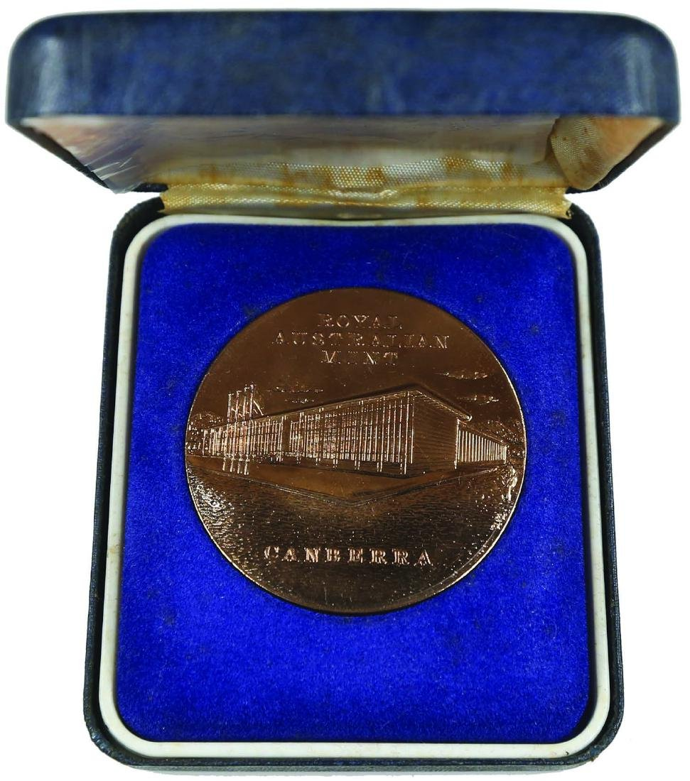 Royal Australian Mint Medal 1970-1984 without