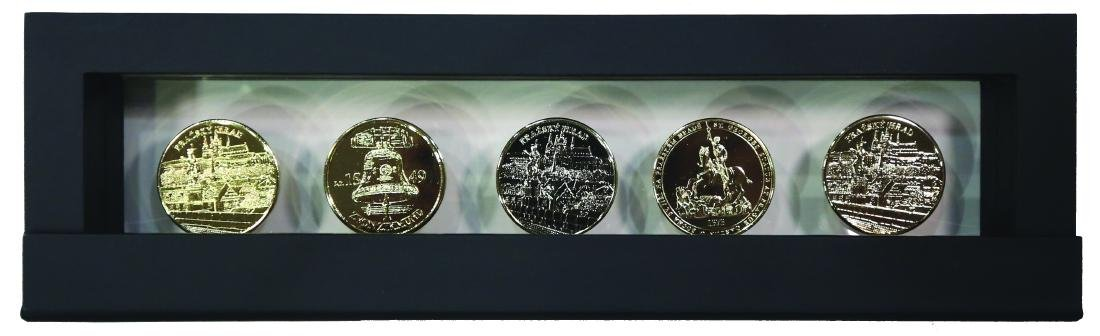 Czech Republic, 24 carat gold plated commemorative